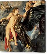 The Kidnapping Of Ganymede Canvas Print