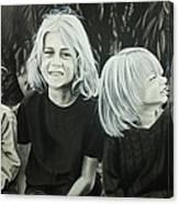 The Kids Canvas Print