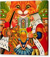 The King And Queen Of Hearts, 2010 Canvas Print