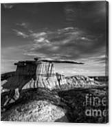 The King Of Wings Monochrome Canvas Print