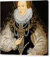 The Kitchener Portrait Of Queen Canvas Print
