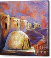 The Horno At Acoma Canvas Print
