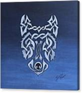 The Knotty Wolf Canvas Print