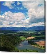 The Kootenai River Canvas Print