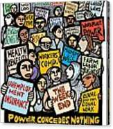 The Labor Movement Canvas Print