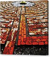The Labyrinth Of St Luke's  Canvas Print