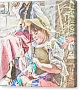 The Ladies Canvas Print
