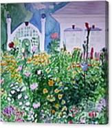 The Laine Garden Canvas Print