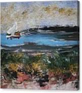 The Lake #5 Canvas Print