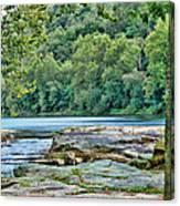 The Lake Canvas Print