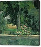 The Lake At Jas De Bouffan, C.1873-76 Canvas Print