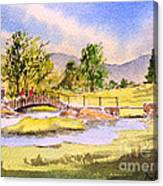 The Lake District - Slater Bridge Canvas Print