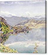 The Lake Of Lucerne, Mount Pilatus Canvas Print