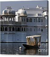 The Lake Palace, India Canvas Print