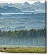 The Land Of A Thousand Hills Canvas Print