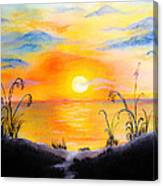 The Land Of The Dying Sun Canvas Print