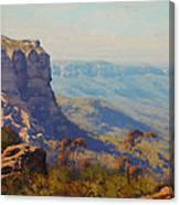 The Landslide Katoomba Canvas Print