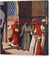 The Last Council Of Boabdil Canvas Print