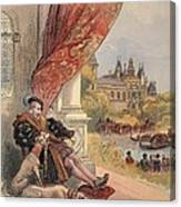 The Last Days Of Francis I Canvas Print