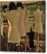 The Last Fashion Show- Old Mannequins Canvas Print