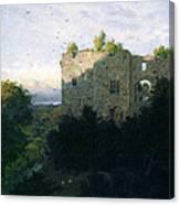 The Last Gleam Canvas Print