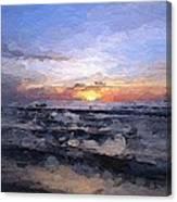 The Last Light Canvas Print
