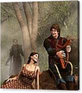 The Last Song Of Tristan Canvas Print