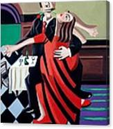The Last Tango Canvas Print