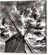 The Last Windmill Canvas Print