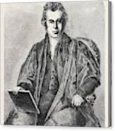 The Late Venerable Archdeacon John Williams Canvas Print
