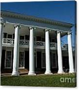 The Lawn At Uva Canvas Print