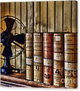 The Lawyers Desk Canvas Print