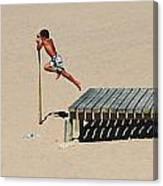 The Leap Canvas Print