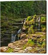 The Ledges Waterfalls Canvas Print