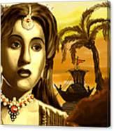 The Legend Actress Madhubala Canvas Print
