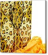 The Leopard Gift Bag Canvas Print