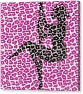 The Leopard Stripper Canvas Print