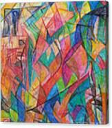 The Letter Shin 2 Canvas Print