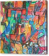 The Letter Tav 2 Canvas Print