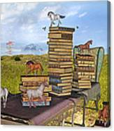 The Library Your Local Treasure Canvas Print