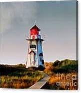 The Light At Covehead Harbour Canvas Print