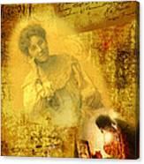 The Light Inside The Dead Canvas Print