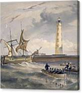 The Lighthouse At Cape Chersonese Canvas Print