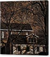 The Lights Went Out In Platte Canvas Print
