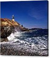 The Ligthouse At West Quoddy Canvas Print