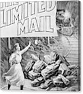 The Limited Mail, 1899 Canvas Print