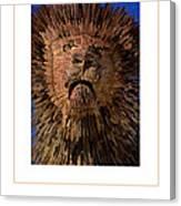 The Lion Poster Canvas Print