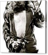 The Lion  Robert Plant Canvas Print