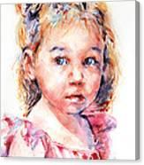 The Little Ballerina Canvas Print