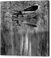 The Little Boat Photoart Canvas Print